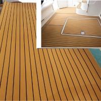 Karpet Alas Lantai dengan Bahan Busa EVA Warna Emas untuk Kapal Laut