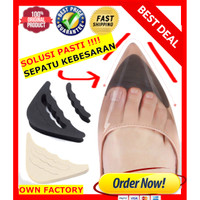 Insole Bantalan Sepatu - Pengganjal Ganjelan Sepatu Longgar Kebesaran