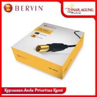 Kabel Antena Bervin BAC-20RG6 - 20 M + Plug Kuningan