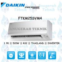 AC SPLIT DAIKIN 1 PK 1PK R32 THAILAND PREMIUM INVERTER - FTKM25SVM4