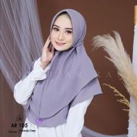 Jilbab Instan Tali Hijab Arrafi AR 105 Kerudung 2 Layer