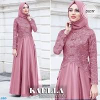 Maxi Kaella / Gamis Wanita Terbaru / Baju Muslim Terlaris