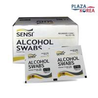 SENSI ALCOHOL SWAB ISOPROPYL ALCOHOL 70% PRAKTIS & STERIL isi 50PCS