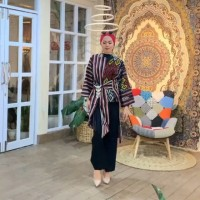 blouse tenun pita ethnic