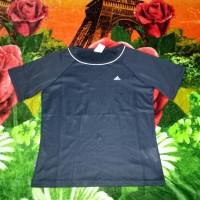 kaos baju fitnes tenis sport olahraga joging lari cewe adidas original