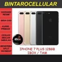 IPHONE 7 + PLUS 128GB GARANSI RESMI IBOX TAM - BLACK ROSE GOLD SILVER