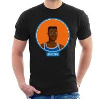 Kaos Pat Ewing Profile Pixel T-shirt