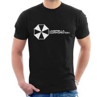 Kaos Resident Evil Umbrella Corporation Logo T-shirt