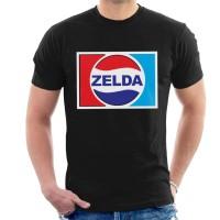 Kaos Legend Of Zelda Pepsi Logo Mix T-shirt