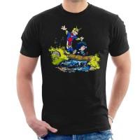 Kaos Plus Ultra Pals Calvin And Hobbes My Hero Academia T-shirt