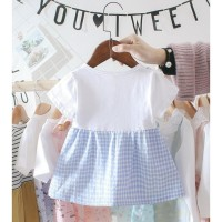 BEST SELLER BABYFIT BR6 BAJU DRESS APRONE MINI DRESS BAJU ANAK
