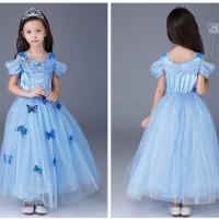 Kostum Princess Cinderella Murah Baju Dress Pesta Anak Disney Import