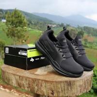 Sepatu Skechers Go Run Mojo Full Black Sneakers Pria Running Import