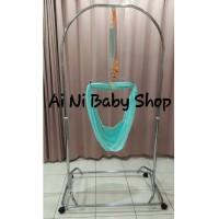 Ayunan bayi Portable manual merek Polar