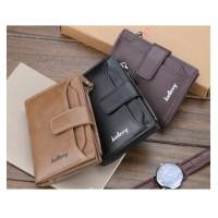 BA03 Original Baellerry Casual Short Leather Wallet Dompet Pendek
