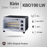 Oven Listrik Kirin KBO-190 LW 19 liter Oven Listrik LOW WATT