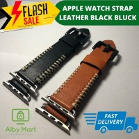 APPLE WATCH STRAP IWATCH 1/2/3/4 Leather kulit knitted retro style