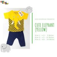 Setelan Anak Laki Fashion Gajah