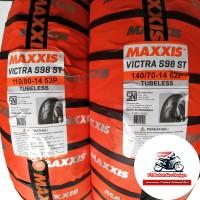 Paket ban Aerox Maxxis Victra 110/80 & 140/70-14 BONUS Pentil