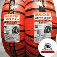 Paket Ban Nmax Maxxis Victra 110/70 & 130/70-13 BONUS Pentil