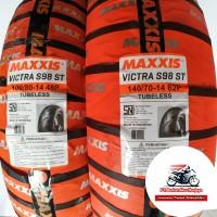 Paket Ban Aerox Maxxis Victra 100/80 & 140/70-14 BONUS Pentil
