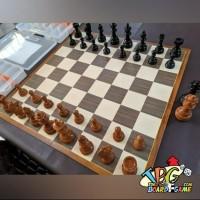 Premium Wooden Chess Set - Papan Catur Premium