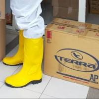 Sepatu Safety Boot Merk AP BOOTS Terra Eco 3 / Sepatu APD - Kuning, 39