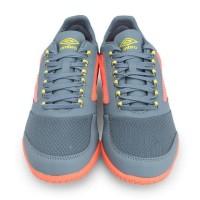 Sepatu Futsal Umbro 100% Original Vision Plus League Ic (Grey)