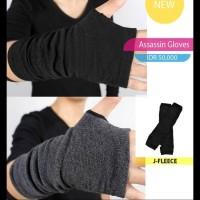 Assassin gloves - Hitam MURAH