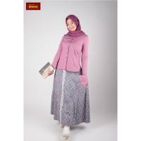 Dannis Setelan Rok 181002 P Baju Muslim Dewasa Wanita