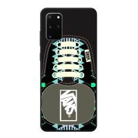 Casing Samsung Galaxy S20 Plus Vans SHoes Aztec Pattern BLACK J0209