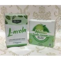 Baby L-arola Melon Body Cream Gluta Gold Vit C Larola Glutagold VitC
