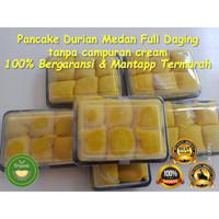 Pancake Durian Medan (Non Krim/Full Durian) Medium isi 6 di Cikarang
