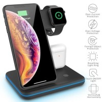 3in1 Fast Wireless Charger + Airpods / Apple watch + Apple Pencil Dock