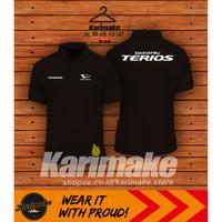 Polo Shirt Kaos Polo Daihatsu Terios kaos otomotif - Karimake