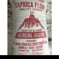 Tepung Sagu/Tapioka kiloan cap Gunung Agung 500gr