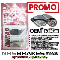 Kampas Rem Depan Yamaha R15 V2 V3 Elig NUCAP NRS