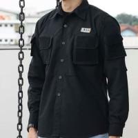 Kemeja panjang pria/Baju Komunitas/Security/PDL/Seragam/Lapangan/Army