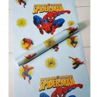 wallpaper stiker dinding motif spiderman