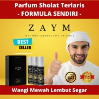 Parfum Non Alkohol Zaym Original - SERIE GOLD Isi 3 Pcs - Unisex