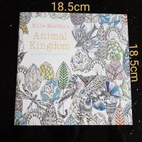 Buku Mewarnai Animal Kingdom
