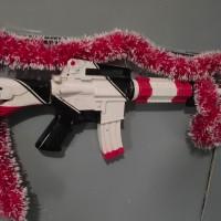 M416 Air Soft Gun Asimov CSGO + Silencer
