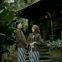 Baju Surjan Couple+Jarik Klasik Jogja Solo/Baju couple Adat Jawa