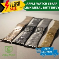 APPLE WATCH STRAP IWATCH 1/2/3/4 LINK STYLE METAL STAINLESS LIKE HOCO