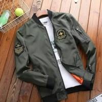 Jaket Bomber Pria Casual dan Trendy - Jet Bomber