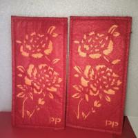 Chinese mini pocket angpao kantong mini ornamen china 2pcs
