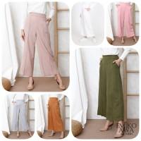 Celana Kulot Wanita Premium - Emikoawa Celana Panjang Wanita Murah