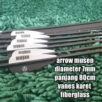 arrow anak panah Musen carbon