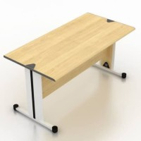 Meja Kantor Modera SOD 7512 UK.120 x 75 x 75 cm Maple