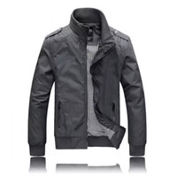 JAKET PRIA HARINGTON SMITH BOMBER JAKET COACH MOTOR SEMI PARKA - Smith Grey, L